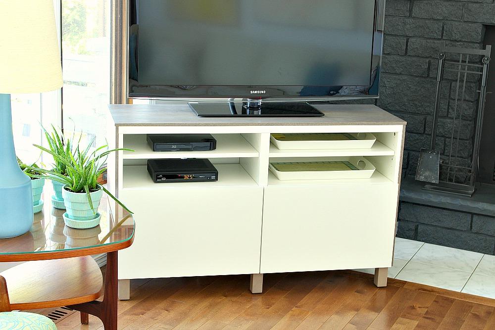 Ikea Besta Hack 2.0 - Besta TV Stand | Dans le Lakehouse