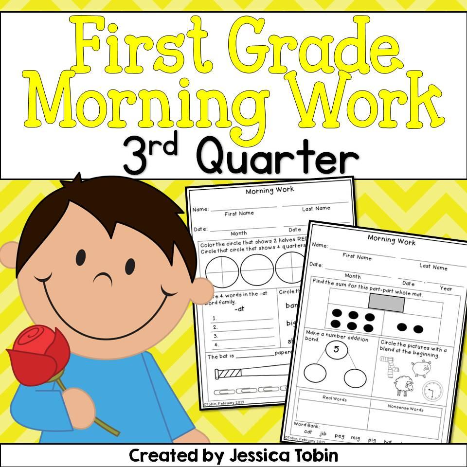 3rd Quarter Morning Work is Here! - Elementary Nest