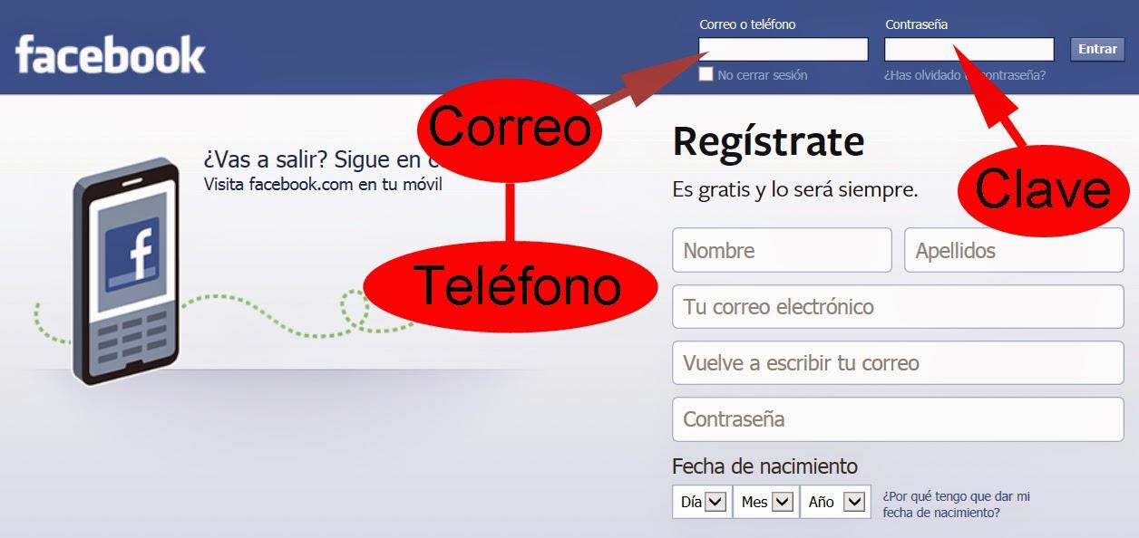 iniciar secion facebook honda
