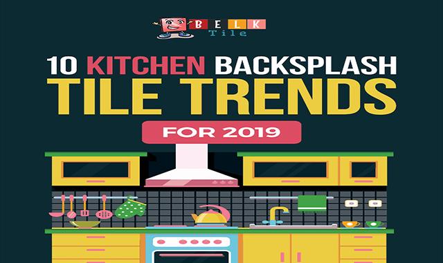 10 Kitchen Backsplash Tile Trends