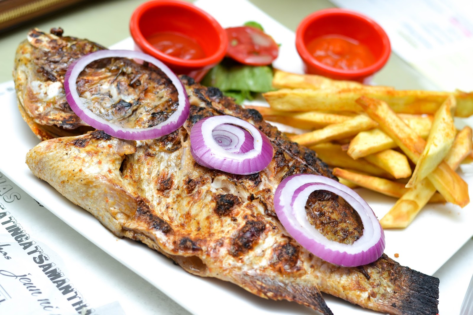 Samantha's Bistro Grilled Tilapia Fish