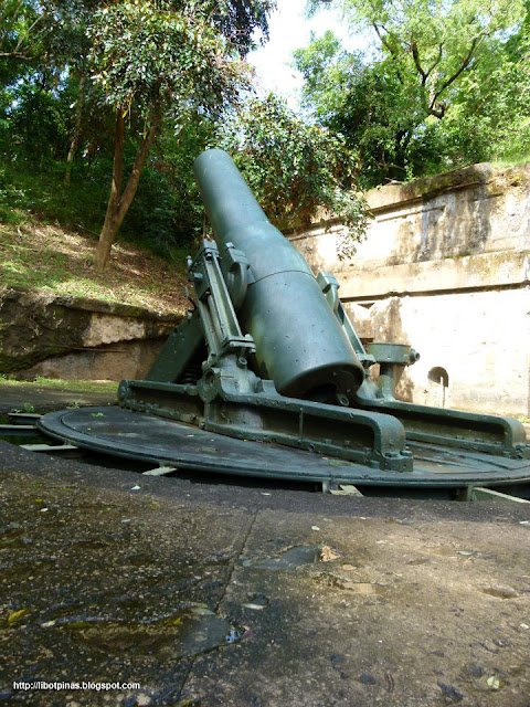 One of the mortars of the Battery Way