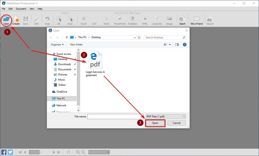 Convert PDF to Editable Word 1