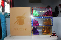 Jual alat sulap dream bag magic paper bag keluar box bunga