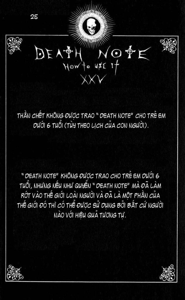 Death Note chapter 110 - how to use trang 28