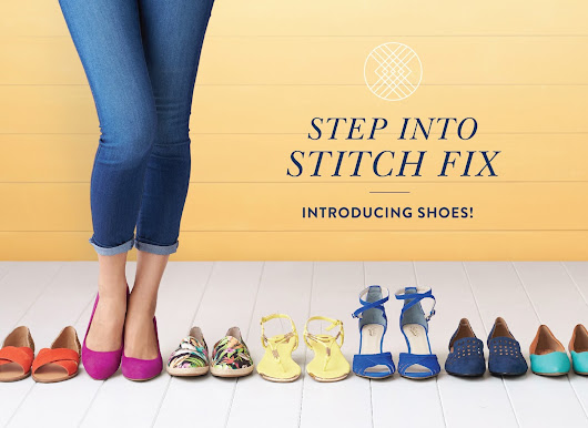 Stitch Fix Steppin' Out With SHOES!