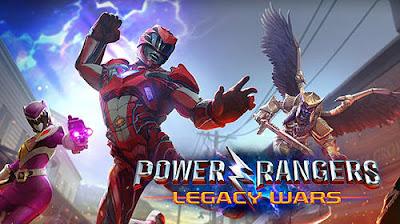 Power rangers: Legacy wars v1.0.1