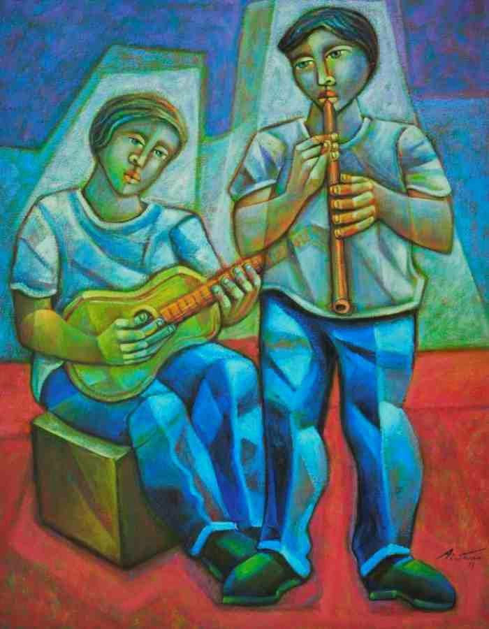 Современный бразильский художник. Adelio Sarro