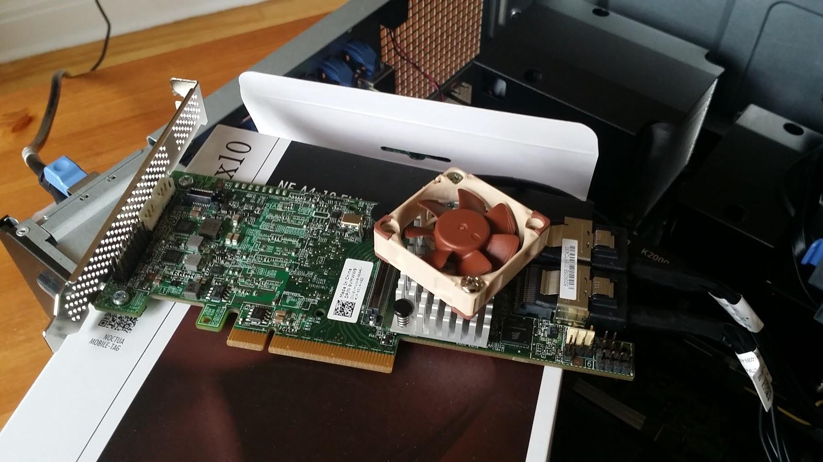 Coyote's Blog: LSI MegaRaid HBA's, overheating and one ugly hack