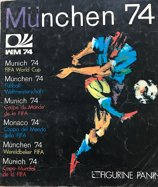Copertina Monaco 74 album panini