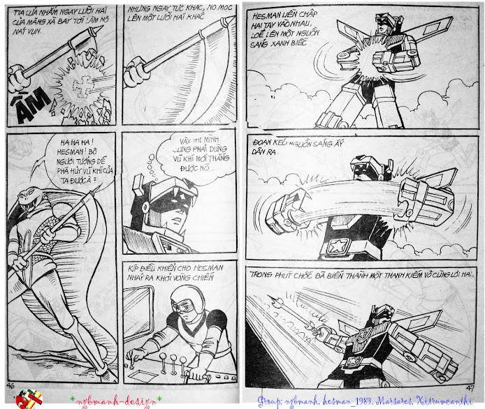 Dũng Sĩ Hesman tập 3 - mãng xà giả dạng trang 25
