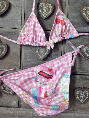 Vichy Kids Swimwear Pink Beachwear