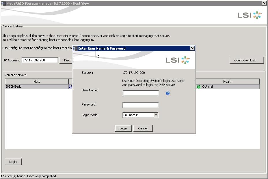 Megaraid Storage Manager - How to install LSI MegaRAID