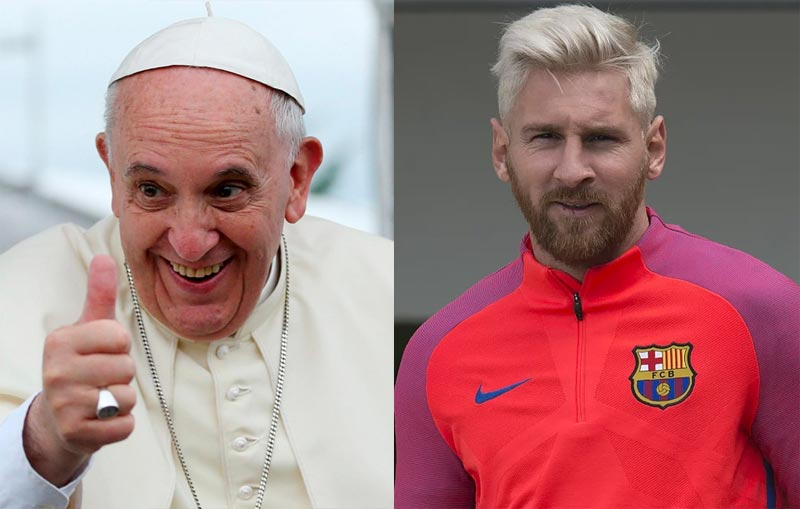 Lord have Messi! Pope Francis declares Lionel Messi as the best footballer of all time