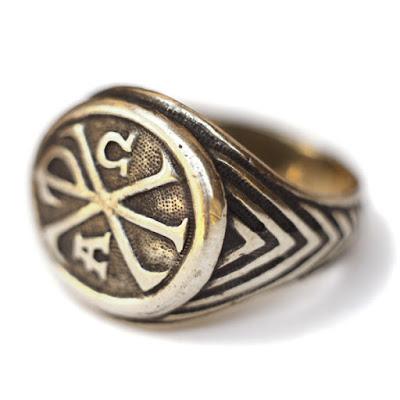 купить печатку кольцо хризма монограмма имени христа купить церковные украшения симферополь