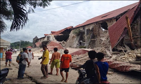 Update Cebu, Bohol Philippines earthquake October 15, 2013
