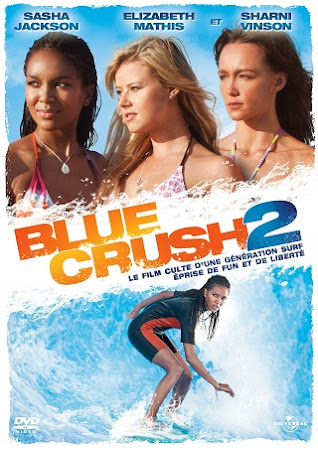 Poster Of Blue Crush 2 In Dual Audio Hindi English 300MB Compressed Small Size Pc Movie Free Download Only At worldfree4u.com