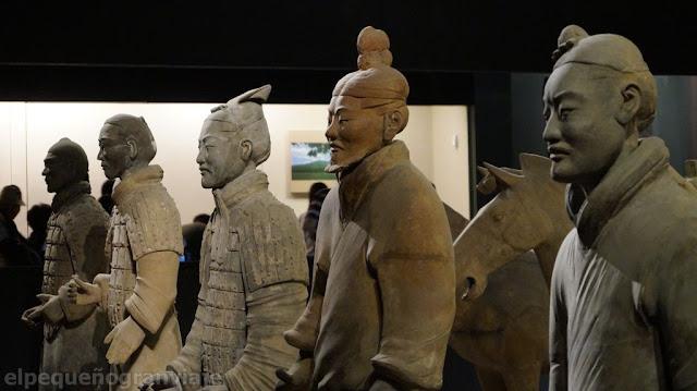 guerreros, terracota, museo, xian