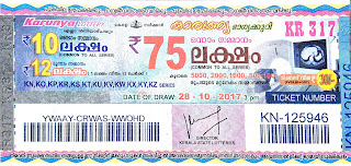 KERALA LOTTERY, kl result yesterday,lottery results, lotteries results, keralalotteries, kerala lottery, keralalotteryresult, kerala lottery   result, kerala lottery result live, kerala lottery results, kerala lottery today, kerala lottery result today, kerala lottery results today, today   kerala lottery result, kerala lottery result 28-10-2017, Karunya lottery results, kerala lottery result today Karunya, Karunya lottery result,   kerala lottery result Karunya today, kerala lottery Karunya today result, Karunya kerala lottery result, KARUNYA LOTTERY KR 317   RESULTS 28-10-2017, KARUNYA LOTTERY KR 317, live KARUNYA LOTTERY KR-317, Karunya lottery, kerala lottery today result   Karunya, KARUNYA LOTTERY KR-317, today Karunya lottery result, Karunya lottery today result, Karunya lottery results today, today   kerala lottery result Karunya, kerala lottery results today Karunya, Karunya lottery today, today lottery result Karunya, Karunya lottery   result today, kerala lottery result live, kerala lottery bumper result, kerala lottery result yesterday, kerala lottery result today, kerala online   lottery results, kerala lottery draw, kerala lottery results, kerala state lottery today, kerala lottare, keralalotteries com kerala lottery result,   lottery today, kerala lottery today draw result, kerala lottery online purchase, kerala lottery online buy, buy kerala lottery online