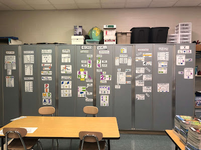 Ms. LaBrake math word wall