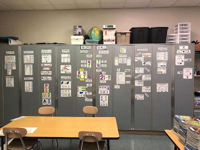 Ms. LaBrake math word wall