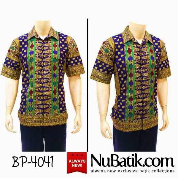Jual Baju Batik Pria Modern Kemeja Batik Gaul Model