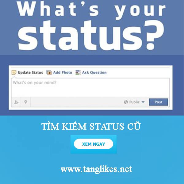 Tìm status trên facebook