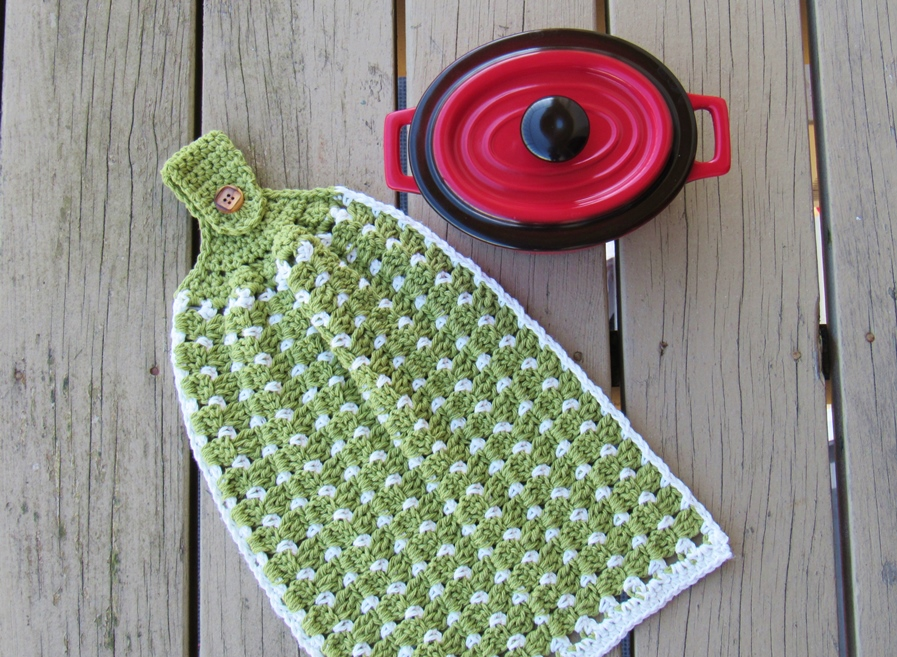 Block Stitch Kitchen Or Tea Towel Free Crochet Pattern Crochet Dreamz