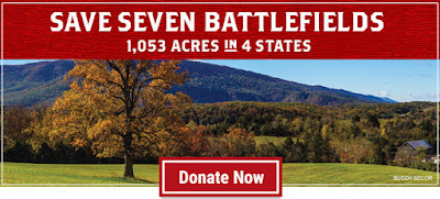 Only $12,500 to go to Save Seven Battlefields