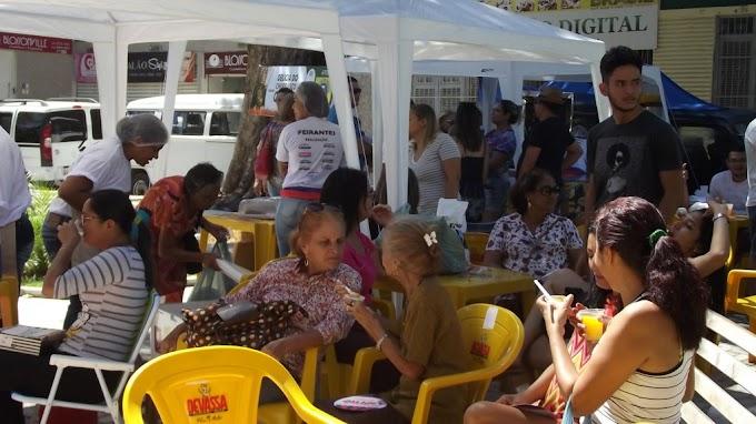 Prefeitura de Caxias por meio da Secretaria de Políticas Públicas para as Mulheres e Secretaria Adjunta de Turismo inaugura Feirinha da Gente