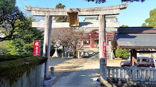 人文研究見聞録:八幡神社(井上八幡宮) [徳島県]