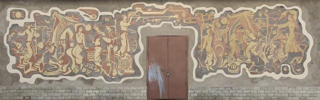 Ouzbékistan, Tachkent, fresque, © L. Gigout, 2012