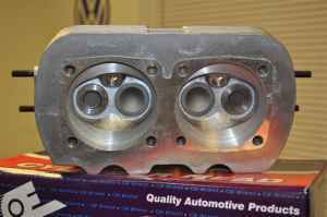 cylinder heads for vw 1600 dual port engine , brand new in box