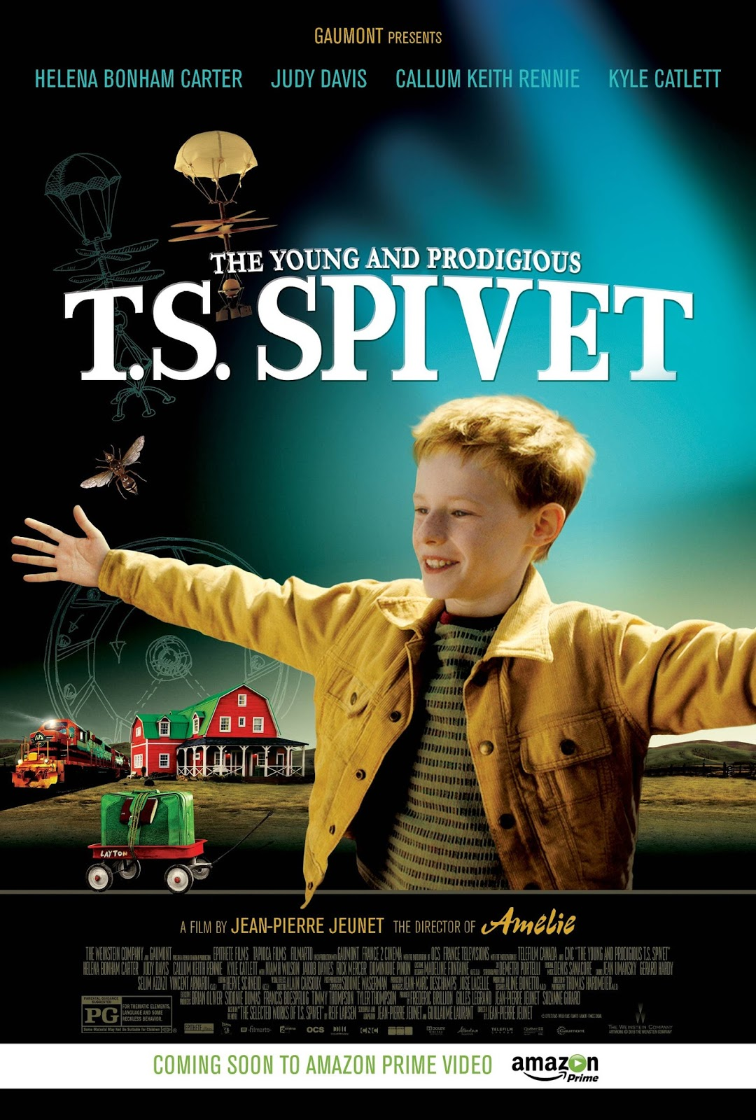 The Young and Prodigious T.S. Spivet 2013 - Full (HD)