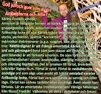 DSC05863.JPG Fredrik Vesterberg lila skjorta djungel med god jul gott nytt år text om rättfärdighet synd förtal och amorism
