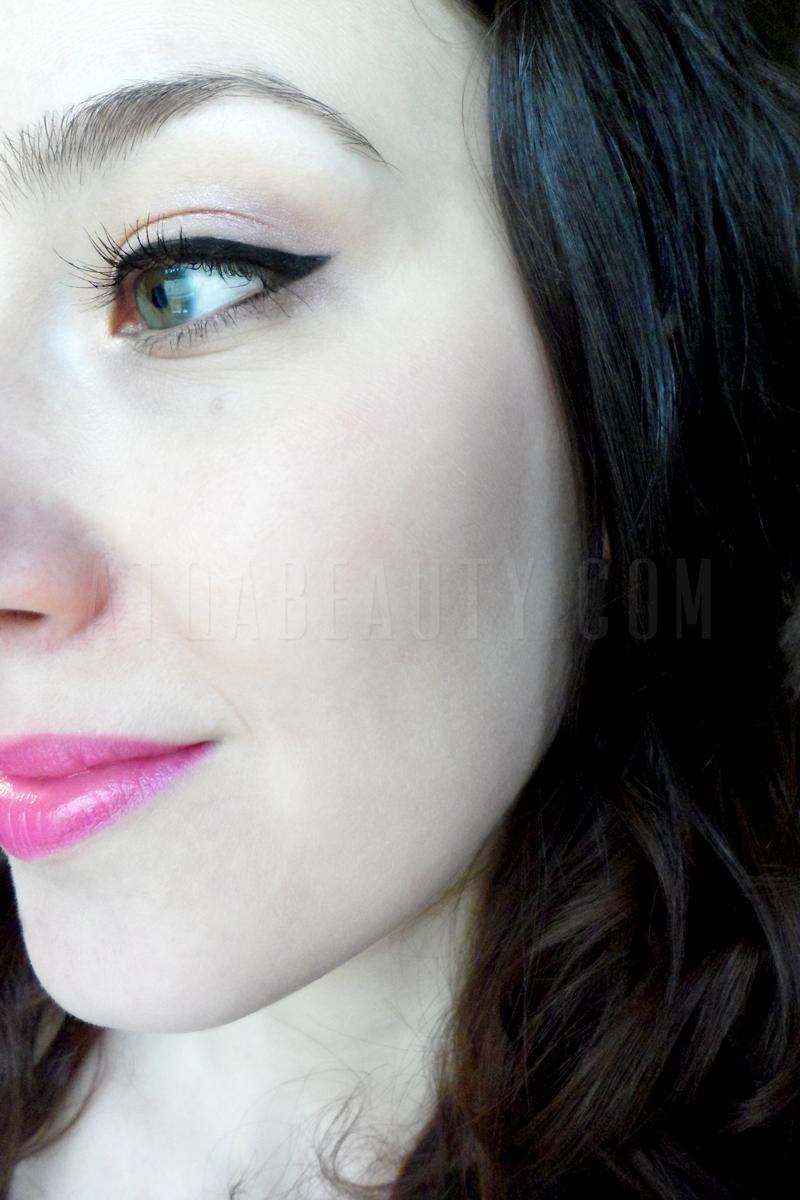 Makijaż :: Na różowo <br>(makijaż + kilka nowości w mojej kosmetyczce)