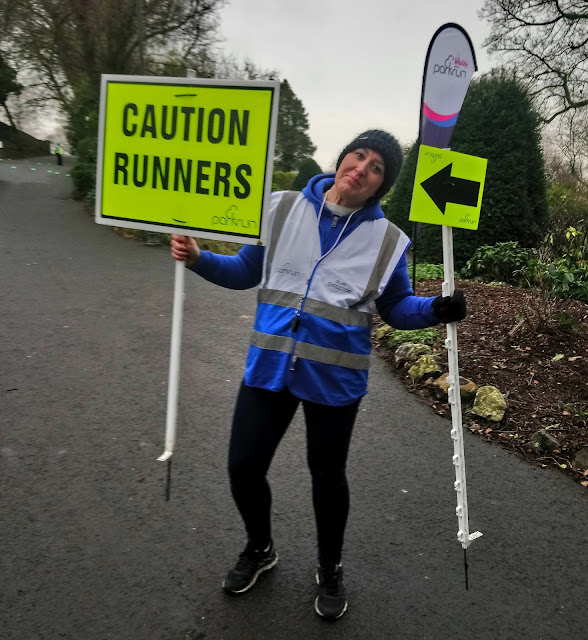 Me at Clitheroe parkrun | The January Run Down : Running updates from January plus sharing the news that I'm now a bodytek ambassador