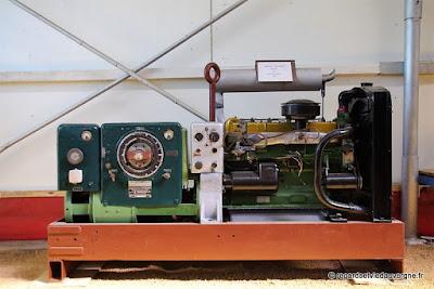 Musée : Electrodrome de Magnet, Allier. Génératrice