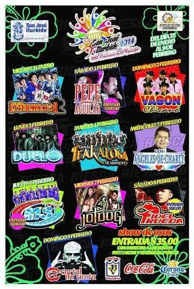 programa feria San josé iturbide 2014