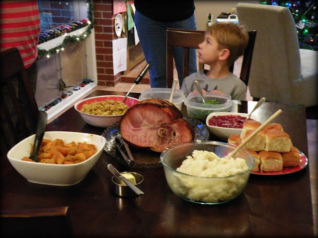 Christmas Dinner Time