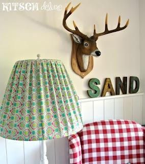 kitsch deluxe diy lampenschirm ber schl pfer anleitung. Black Bedroom Furniture Sets. Home Design Ideas