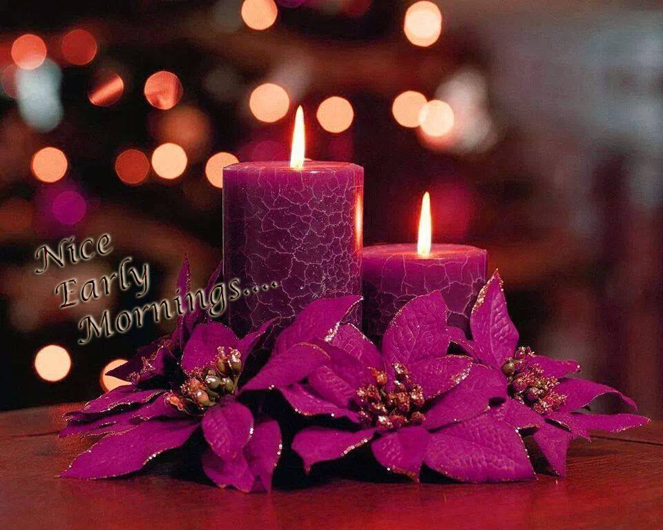 nice purple good morningwallpaper