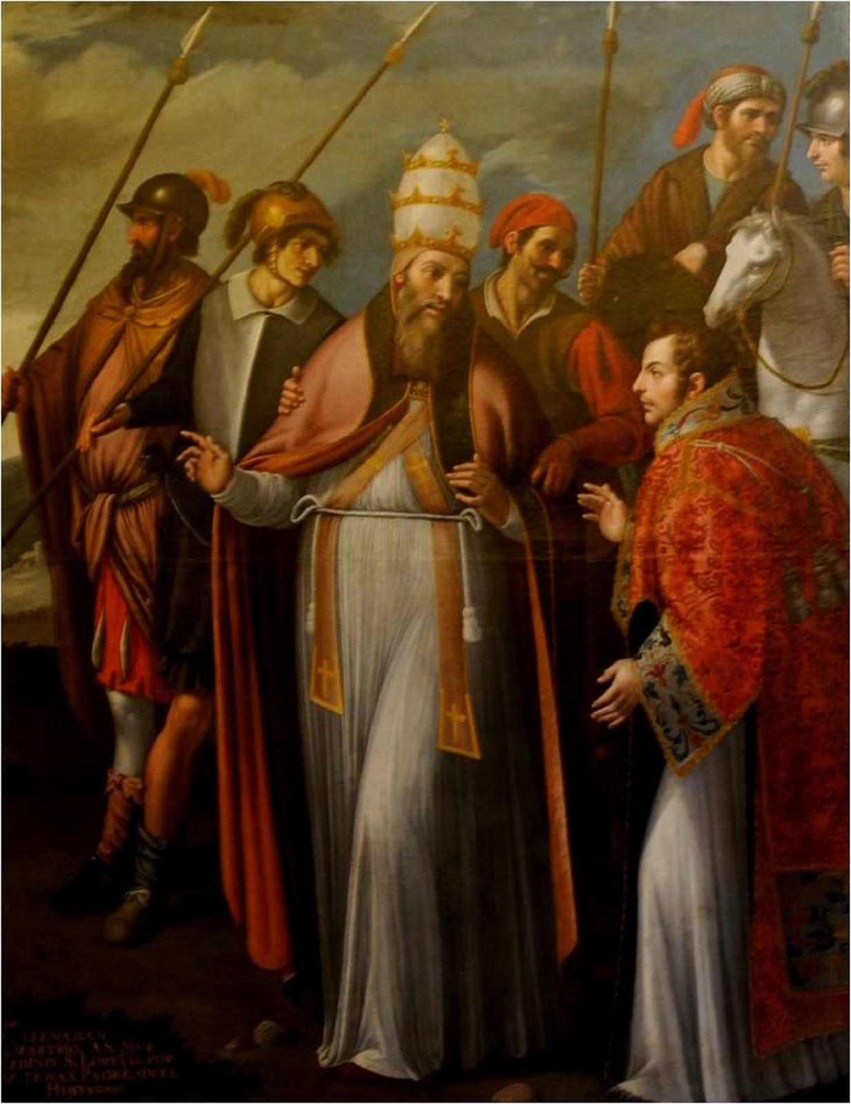 Resultado de imagen para san sixto ii papa y compañeros martires