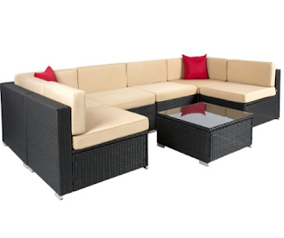 Best Choice Products 7 Piece Outdoor Patio Garden Furniture Wicker Rattan Sofa Set Sectional, Best Choice Products Rattan Wicker Sofa Sets, Outdoor Sofa Sets, Outdoor Sofas, Outdoor Furniture, Best Choice Products, Best Choice Products Wicker Sofa Sets, Outdoor Sofa Sets, Sofa Sets, Wicker Sofa Sets,