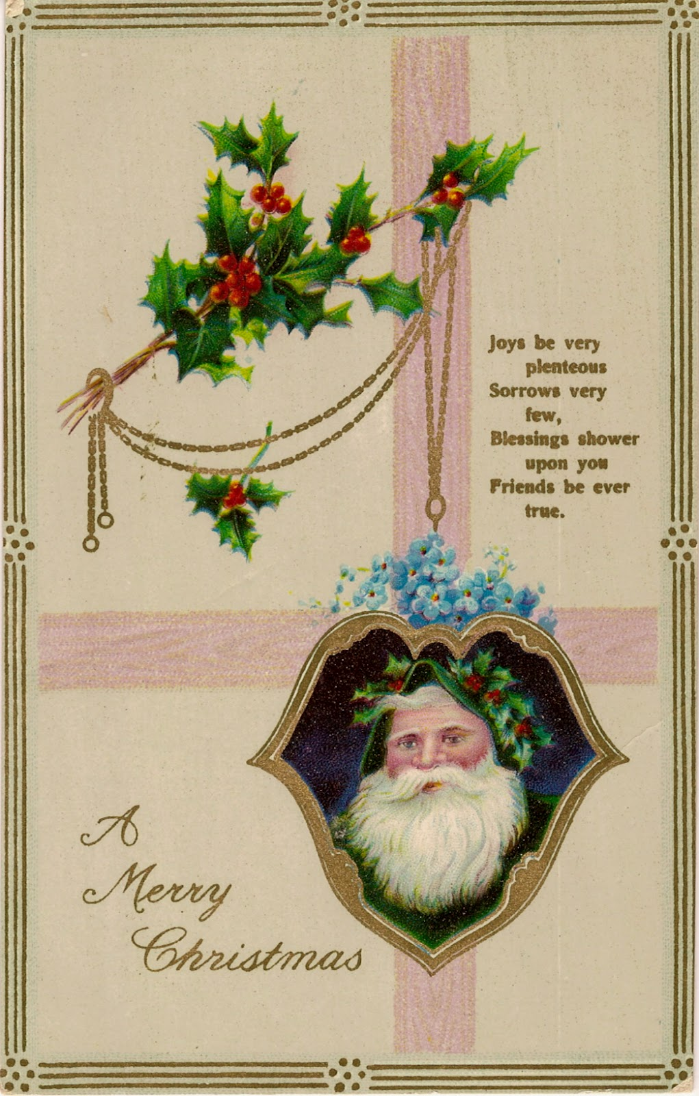 The Lothians: A Gallery of Edwardian Christmas Cards (Part ...