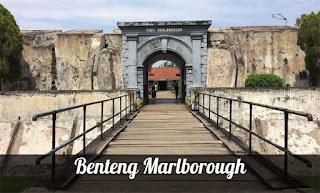 situs sejarah, cagar budaya, benteng marlborough, fort marlborough