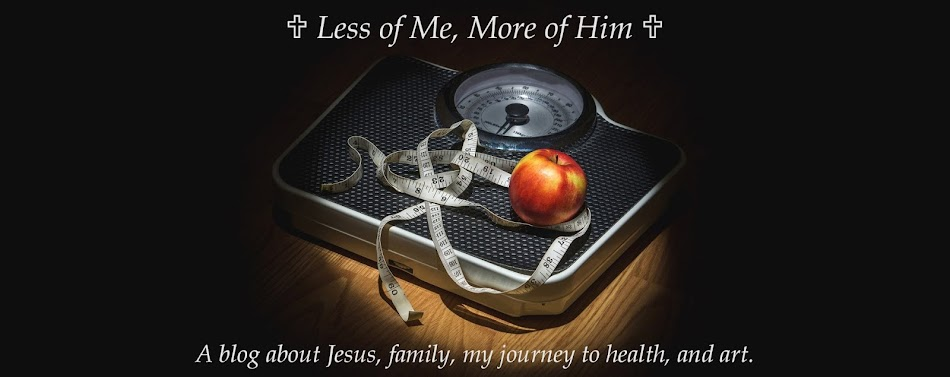 LESS of Me, More of Him, a Blog about Life