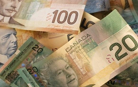 Dólar Canadense Dinheiro do Canadá