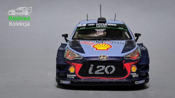 IXO RAM644 Hyundai i20 Coupe WRC, Rallye Monte-Carlo 2017: T. Neuville / N. Gilsoul