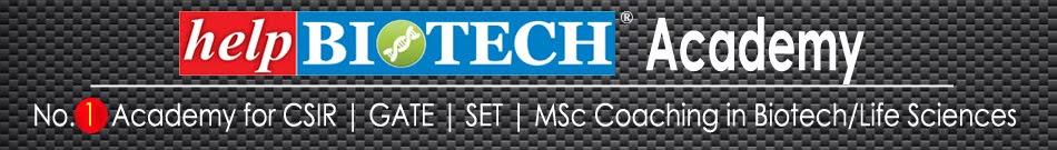helpBIOTECH Academy: GATE Biotech 2019 Study Materials